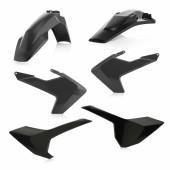 Acerbis Plastiksatz Kit für Husqvarna TE/FE 2017 schwarz