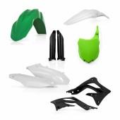 Acerbis Plastiksatz Kit für Kawasaki KXF450 2013 grün schwarz