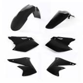 Acerbis Plastiksatz Kit für Kawasaki KXF 250 04-05 schwarz