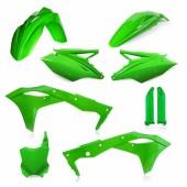 Acerbis Plastiksatz Kit für Kawasaki KXF 250 2017 grün