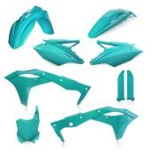 Acerbis Plastiksatz Kit für Kawasaki KXF 250 2018 hellgrün
