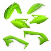 Acerbis Plastiksatz Kit für Kawasaki KXF 450 2016 EU grün