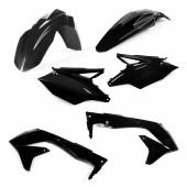 Acerbis Plastiksatz Kit für Kawasaki KXF 450 2016 EU schwarz