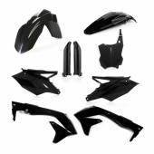 Acerbis Plastiksatz Kit für Kawasaki KXF 450 2016 USA schwarz