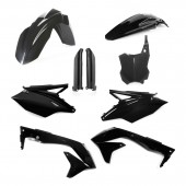 Acerbis Plastiksatz Kit für Kawasaki KXF 450 2018 EU schwarz