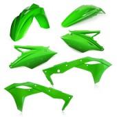 Acerbis Plastiksatz Kit für KawasakiASAKI KXF250 19 grün