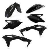 Acerbis Plastiksatz Kit für KawasakiASAKI KXF250 19 schwarz