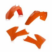Acerbis Plastiksatz Kit für KTM EXC 2T-4T 05 orange