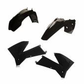 Acerbis Plastiksatz Kit für KTM EXC 2T-4T 05 schwarz
