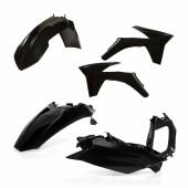 Acerbis Plastiksatz Kit für KTM EXC/EXCF 2012 schwarz