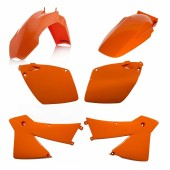Acerbis Plastiksatz Kit für KTM orange