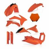 Acerbis Plastiksatz Kit für KTM SX-F 2011 orange