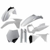 Acerbis Plastiksatz Kit für KTM SX-F 2011 weiss