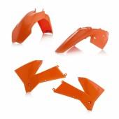 Acerbis Plastiksatz Kit für KTM SX 125/250 05-06 orange