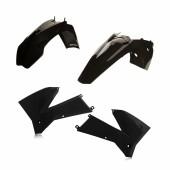 Acerbis Plastiksatz Kit für KTM SX 125/250 05-06 schwarz
