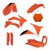 Acerbis Plastiksatz Kit für KTM SX 2011 orange
