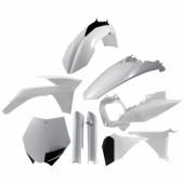 Acerbis Plastiksatz Kit für KTM SX 2011 weiss