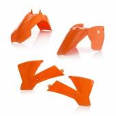 Acerbis Plastiksatz Kit für KTM SX 65 04-08 weiss