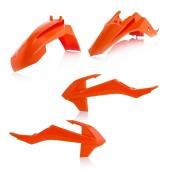 Acerbis Plastiksatz Kit für KTM SX 65 2016 orange 2