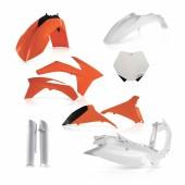 Acerbis Plastiksatz Kit für KTM SX/SX-F2012 orange weiss