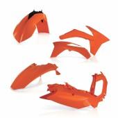 Acerbis Plastiksatz Kit für KTM SX/SX-F 2011 orange
