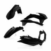Acerbis Plastiksatz Kit für KTM SX/SXF 2013 schwarz