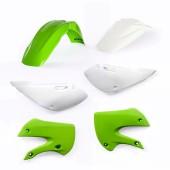 Acerbis Plastiksatz Kit für Suzuki & Kawasaki grün weiss