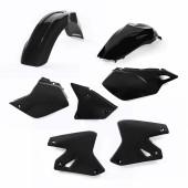 Acerbis Plastiksatz Kit für Suzuki & Kawasaki schwarz
