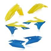 Acerbis Plastiksatz Kit für Suzuki RMZ 250 2019 gelb blau