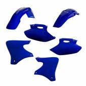 Acerbis Plastiksatz Kit für Yamaha blau