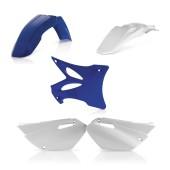 Acerbis Plastiksatz Kit für Yamaha blau weiss