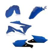 Acerbis Plastiksatz Kit für Yamaha WRF 450 2019 blau