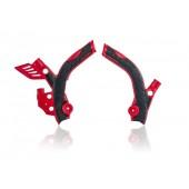 Acerbis Rahmenschützer X-GRIP BETA RR 13-18 rot schwarz