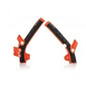 Acerbis Rahmenschützer X-GRIP für KTM 85 13/16 - TC 85 1 orange 2