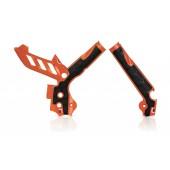 Acerbis Rahmenschützer X-GRIP für KTM CRF orange