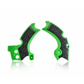 Acerbis Rahmenschutz X-GRIP für Kawasaki KXF 250 17 grün schwarz