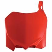 Acerbis Startnummerntafel für Honda rot