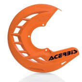 Acerbis X-BRAKE Bremsscheibenschutz orange