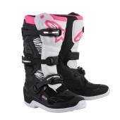 Alpinestars Stella Tech 3 Stiefel schwarz pink