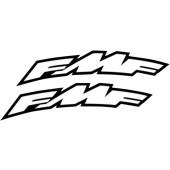 FMF Aufkleber Kotflügel halbrund klein