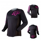 Fox MX Jersey Blackout Frauen