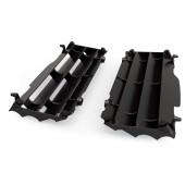 Kühlerschutzlamellen Paar schwarz für Husqvarna