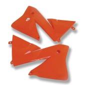 Kühlerverkleidung Paar orange für KTM 01