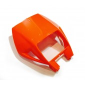 Lampenmaske orange für KTM 02
