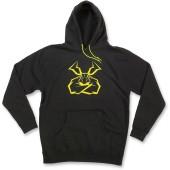 Moose Agroid Hoody schwarz