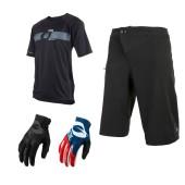 Oneal Combo Matrix Short schwarz PinIt Jersey MTB Hose