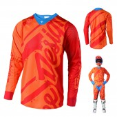 Troy Lee Designs SE Air Shadow MX Jersey gelb rot