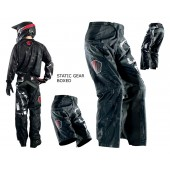 Thor MX Hose Baggy S14 Static BOXED schwarz rot 30
