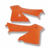 Tankspoiler Paar orange KTM 03