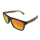 TWO-X Sonnenbrille schwarz rot Zebrano